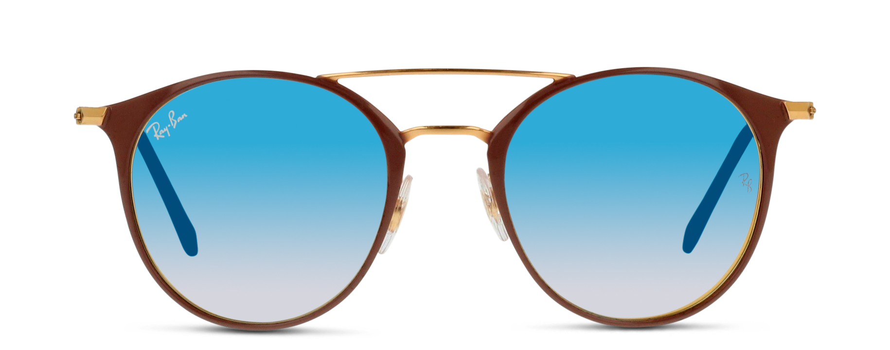Front Ray-Ban Ray-Ban 0RB3546 90118B 52/20 Goud, Roze/Blauw