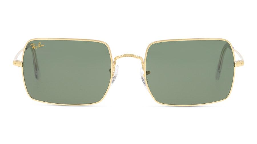 Ray-Ban Rectangle RB1969 919631 54 Verde / Dourado