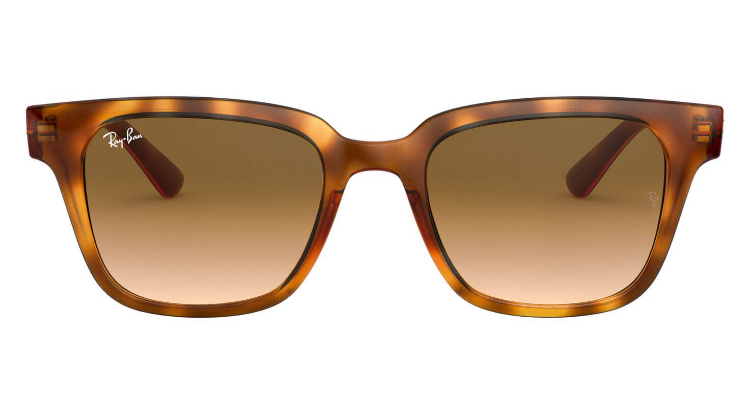 Front Ray-Ban Ray-Ban 0RB4323 647551 51/20 Bruin/Geel