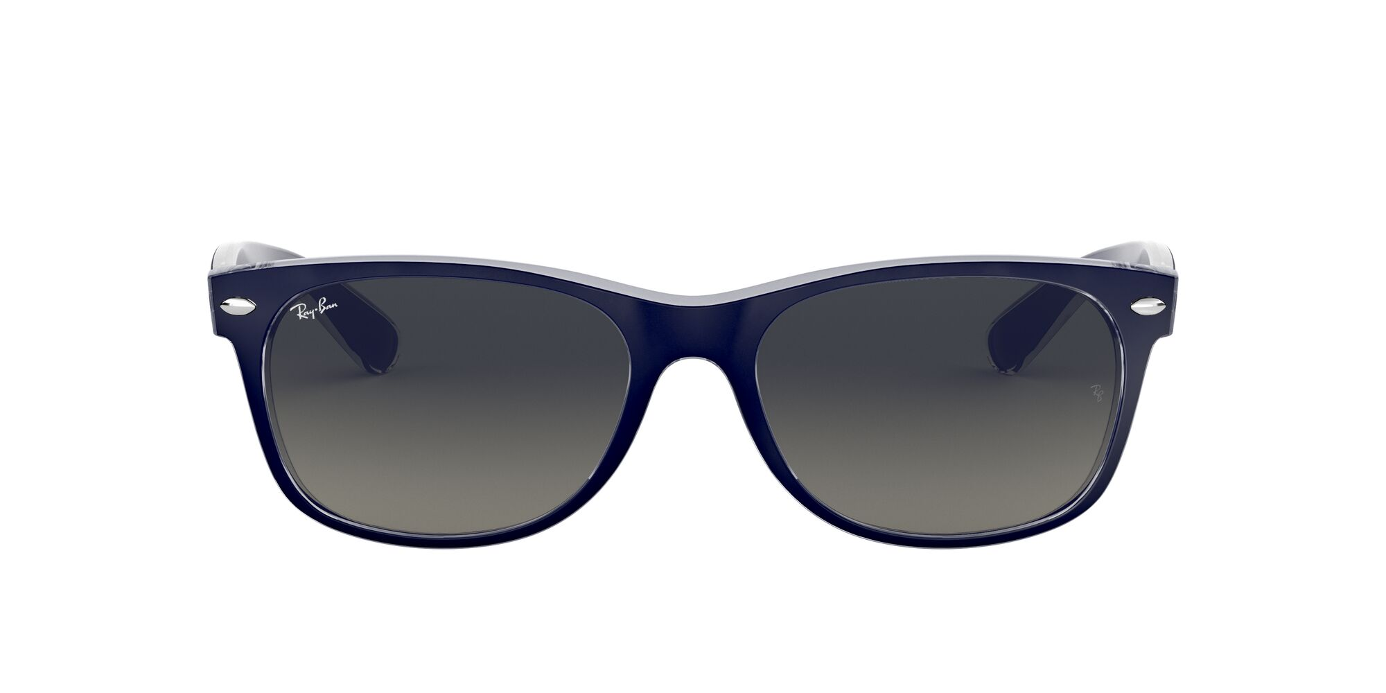 Front Ray-Ban Ray-Ban 0RB2132 605371 52/18 Blauw/Grijs