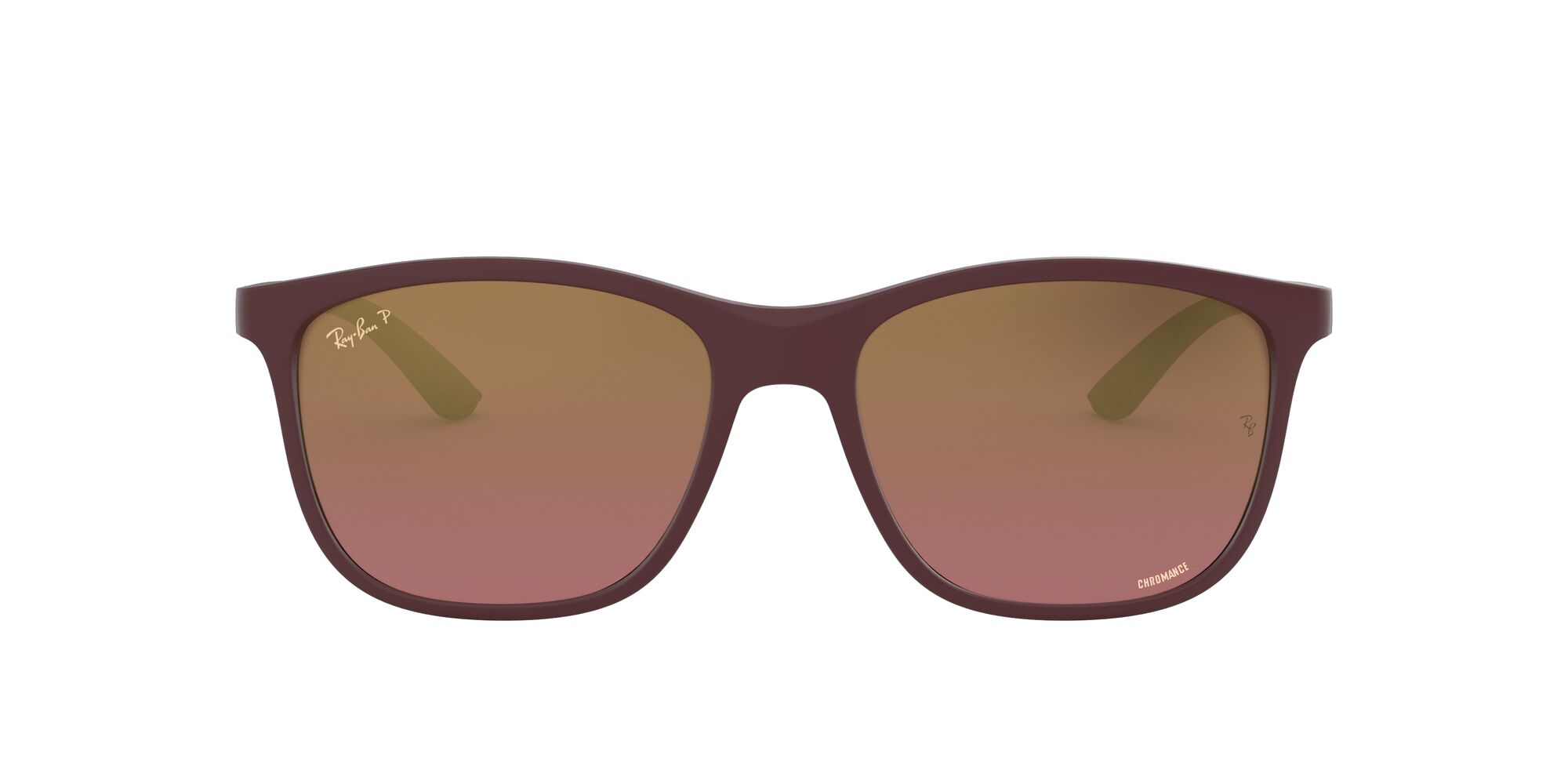Front Ray-Ban Ray-Ban 0RB4330CH 64456B 55/17 Paars/Paars