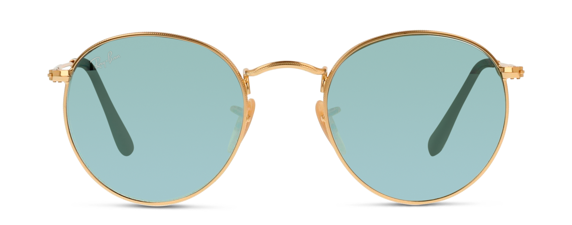 Front Ray-Ban Ray-Ban 3447N 001/30 50/21 Goud/Zilver