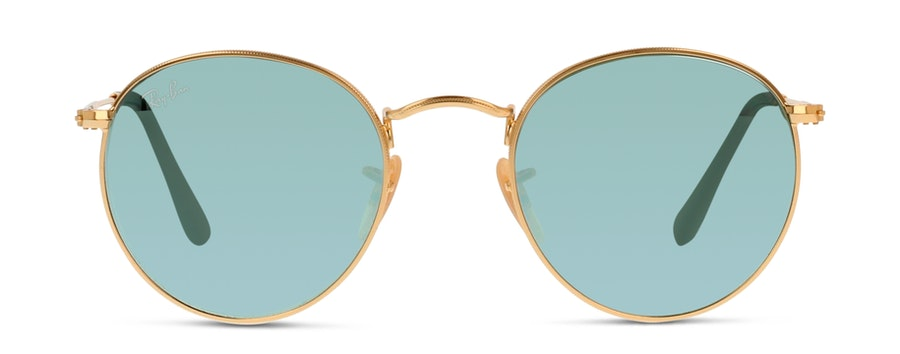 Ray-Ban Round 3447N 001/30 Zilver / Goud
