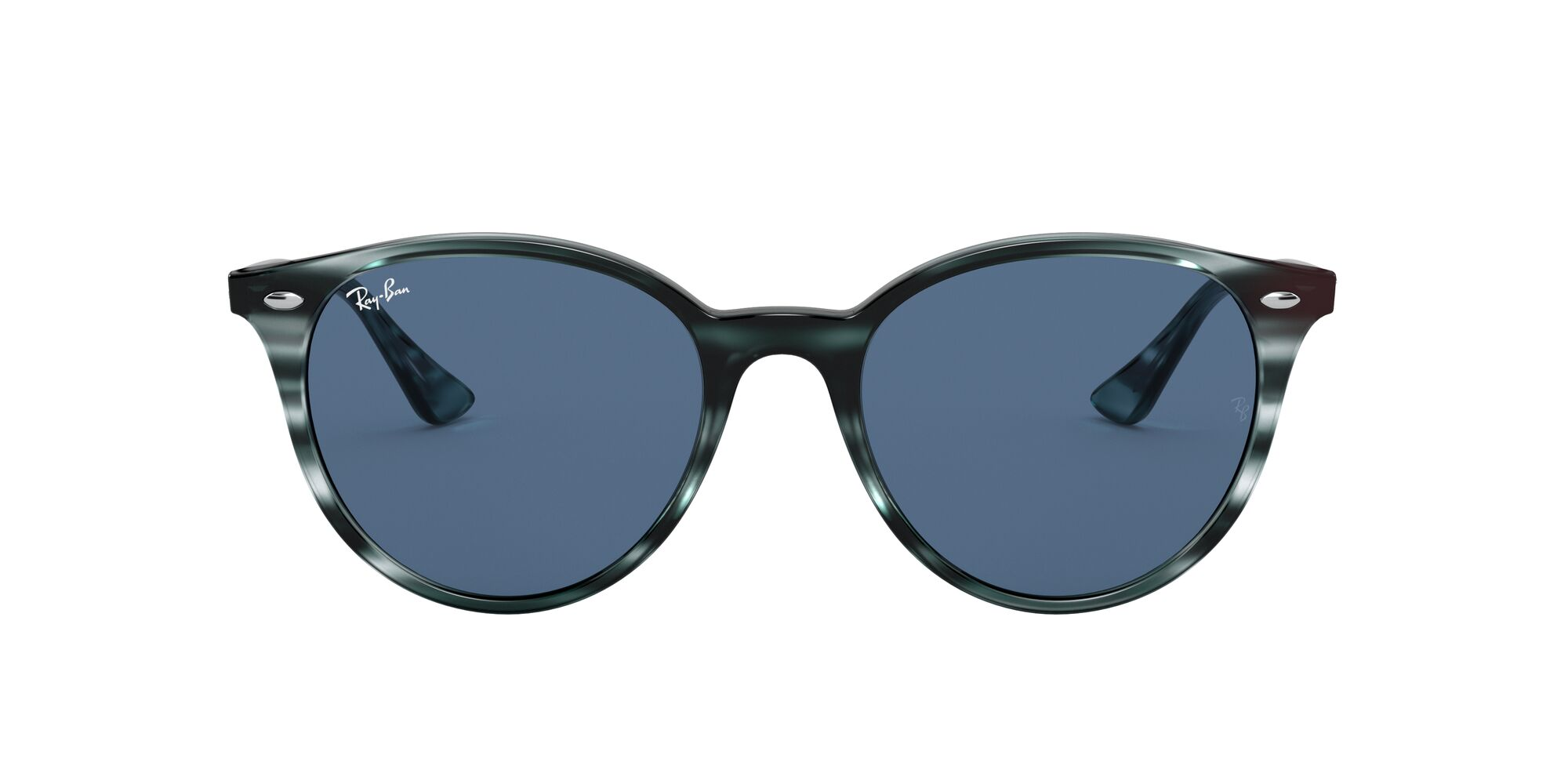 Front Ray-Ban Ray-Ban 0RB4305 643280 53/19 Blauw, Bruin/Blauw