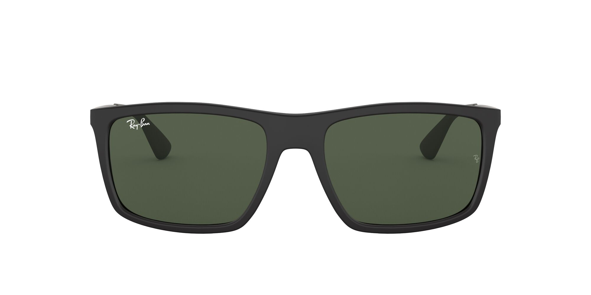Front Ray-Ban Ray-Ban 0RB4228 601S71 58/18 Zwart/Groen