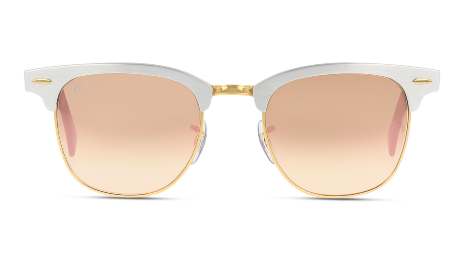 Front Ray-Ban Ray-Ban 0RB3507 137/7O 51/21 Zilver/Bruin