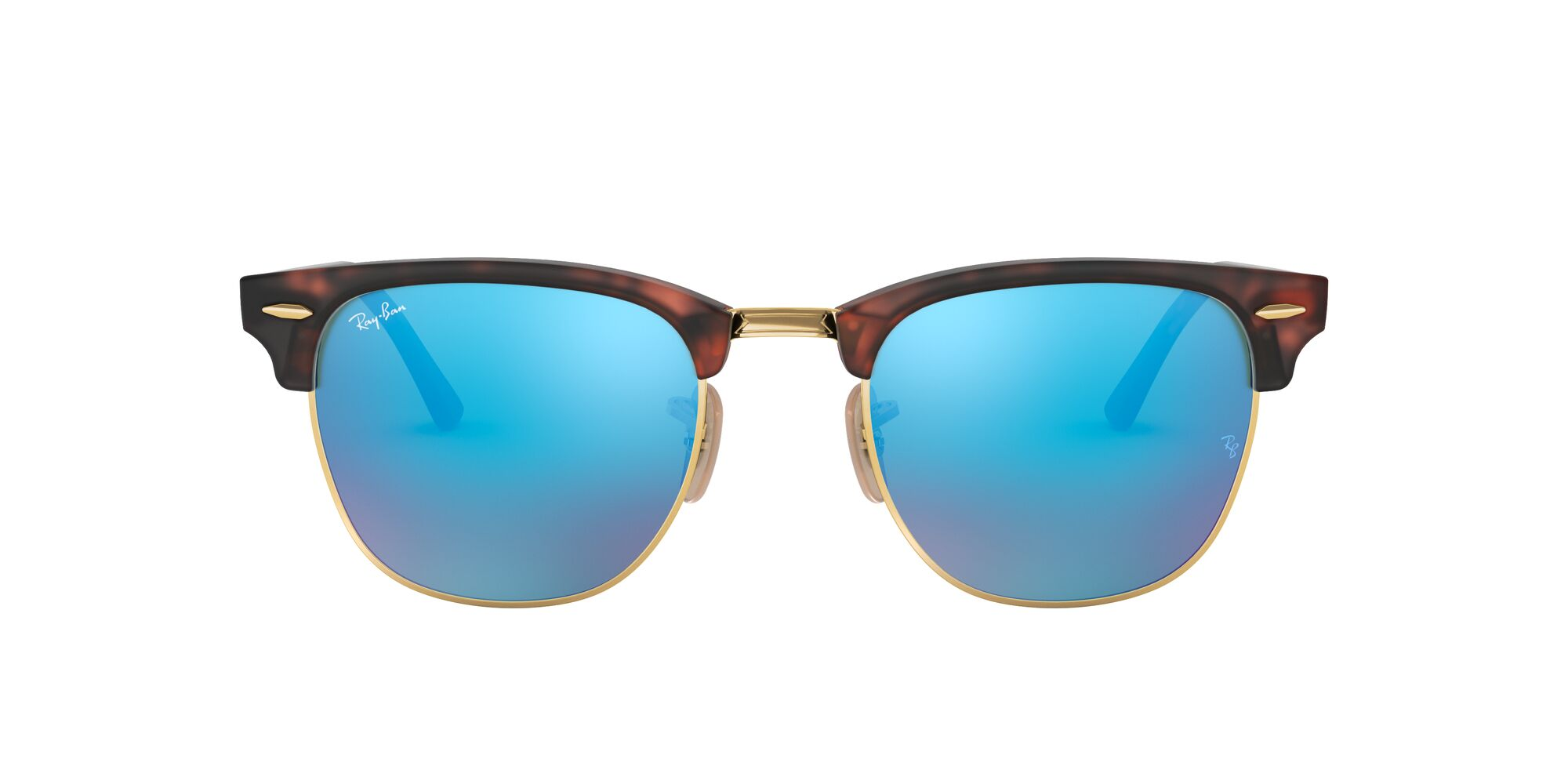 Front Ray-Ban Ray-Ban 0RB3016 114517 49/21 Goud/Grijs