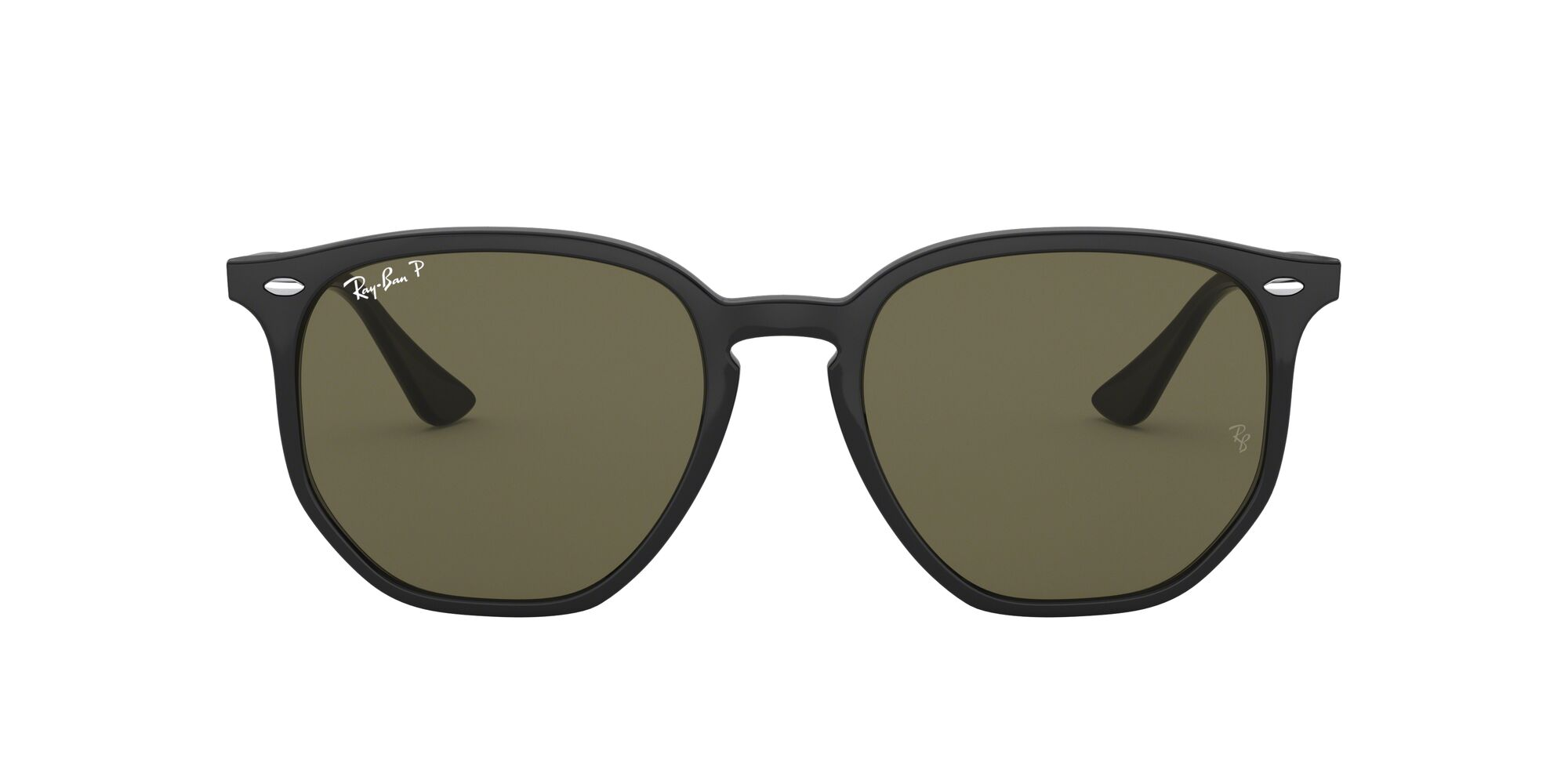 Front Ray-Ban Ray-Ban RB4306 601/9A 54/19 Zwart/Groen
