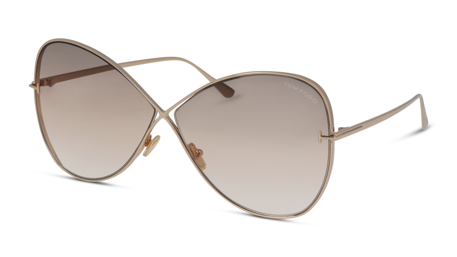 Angle_Left01 Tom Ford FT0842/28F/669/135 Guld