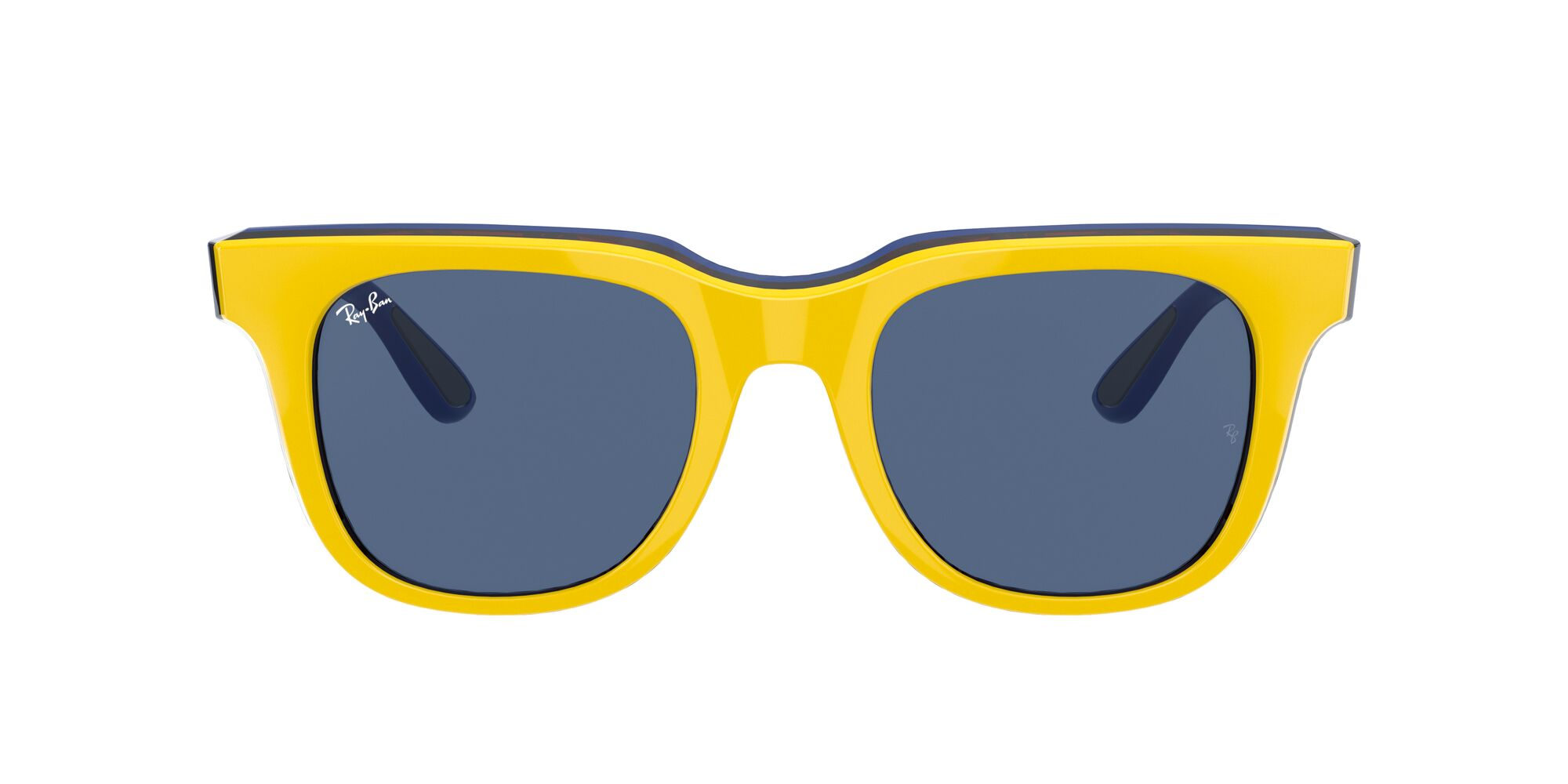 Front Ray-Ban Ray-Ban 0RB4368 652580 0/21 Geel/Blauw