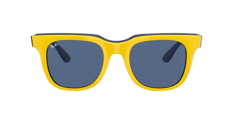 Ray-Ban 0RB4368 652580 Blauw / Geel