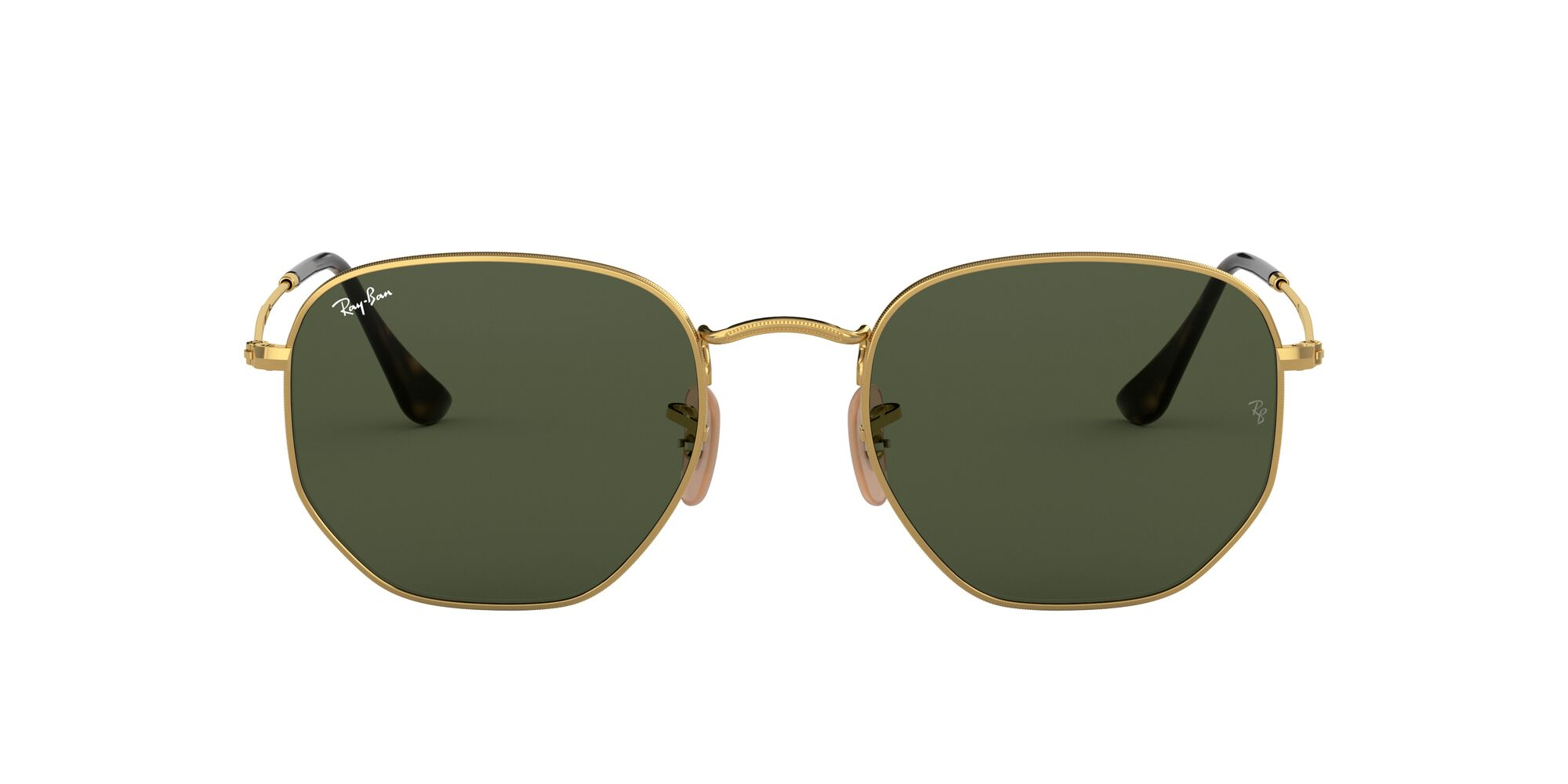 Front Ray-Ban Ray-Ban 0RB3548N 001 48/21 Goud/Groen