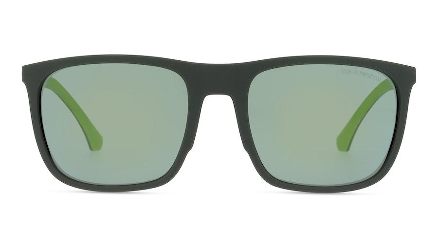 Emporio Armani 4133 57536R Groen / Zwart