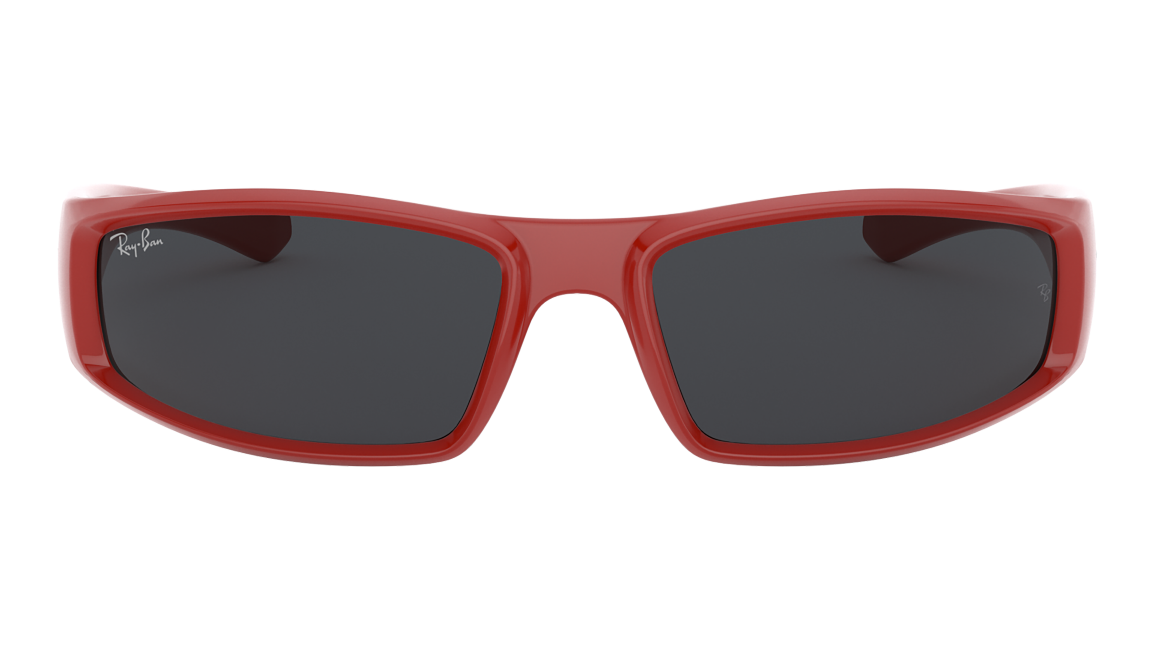 Front Ray-Ban Ray-Ban 0RB4335 648787 58/17 Rood/Grijs