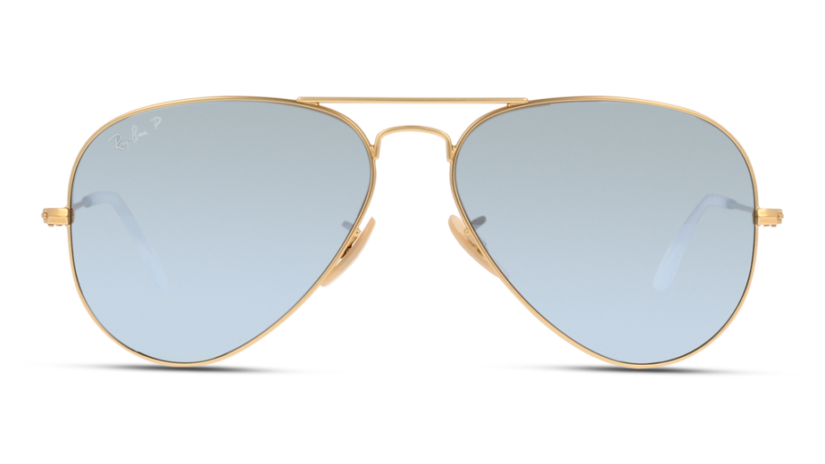 Front Ray-Ban Ray-Ban RB3025 112/W3 58/14 Goud/Grijs