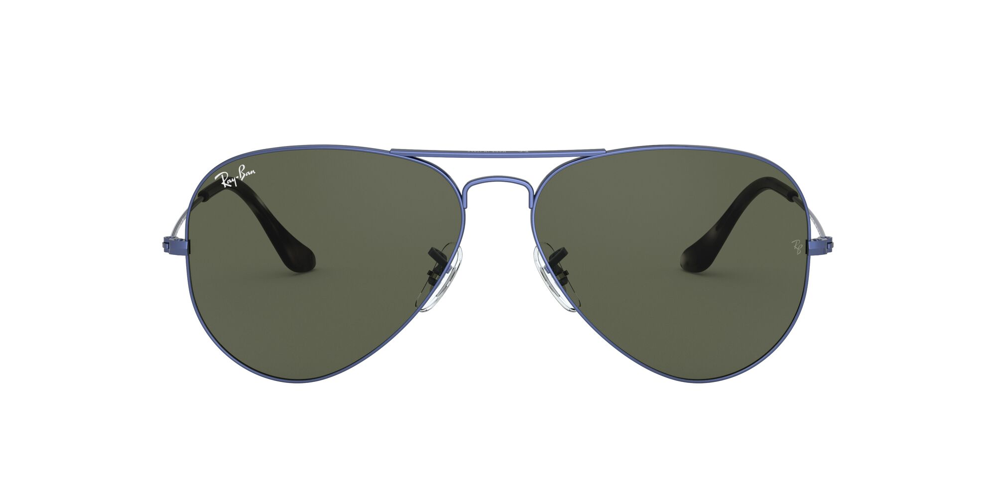 Front Ray-Ban Ray-Ban 0RB3025 918731 62/14 Blauw/Groen