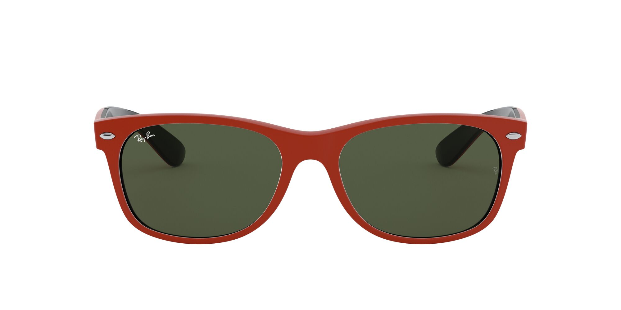Front Ray-Ban Ray-Ban 0RB2132 646631 58/18 Rood, Blauw/Groen