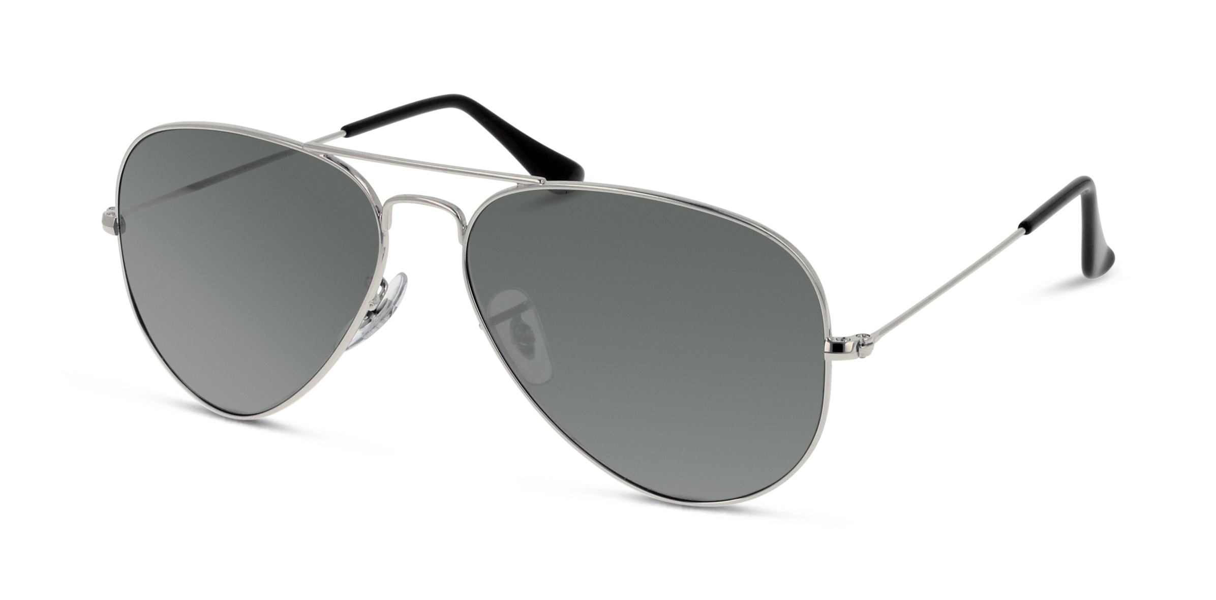 Angle_Left01 Ray-Ban Ray-Ban 3025 W3277 58/14 Zilver/Zilver