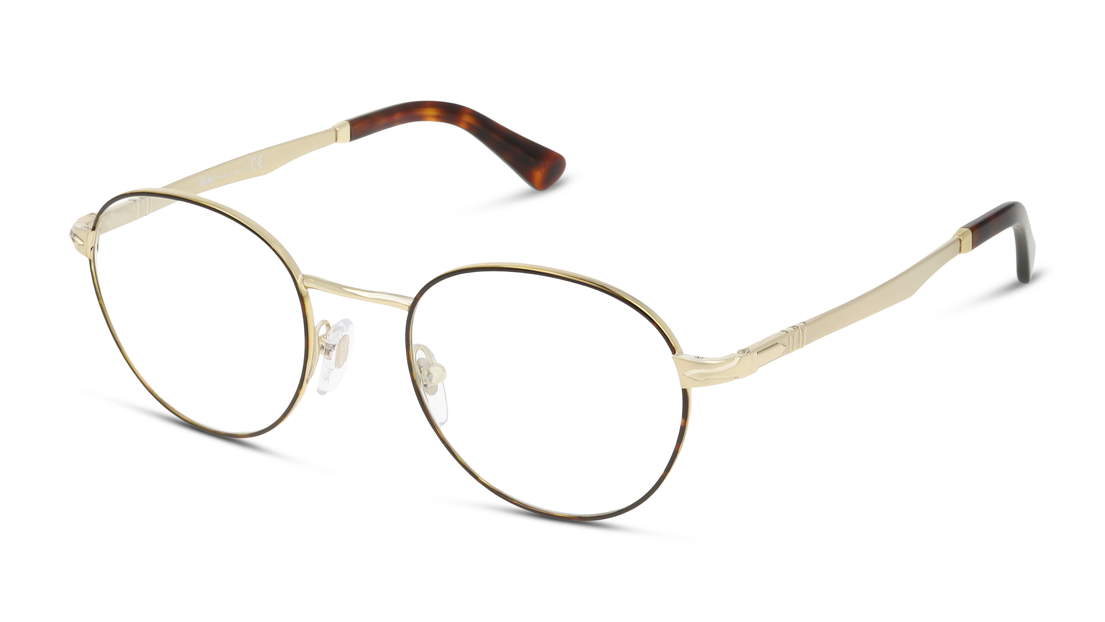 Angle_Left01 Persol Persol 2460V 1075 48/20 Bruin, Goud
