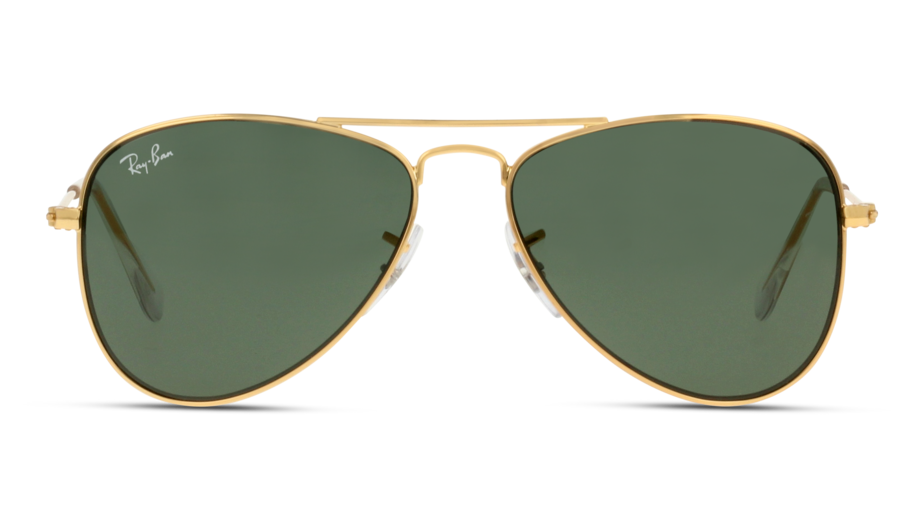Front Ray-Ban Ray-Ban 9506S 22371 50/13 Goud/Groen