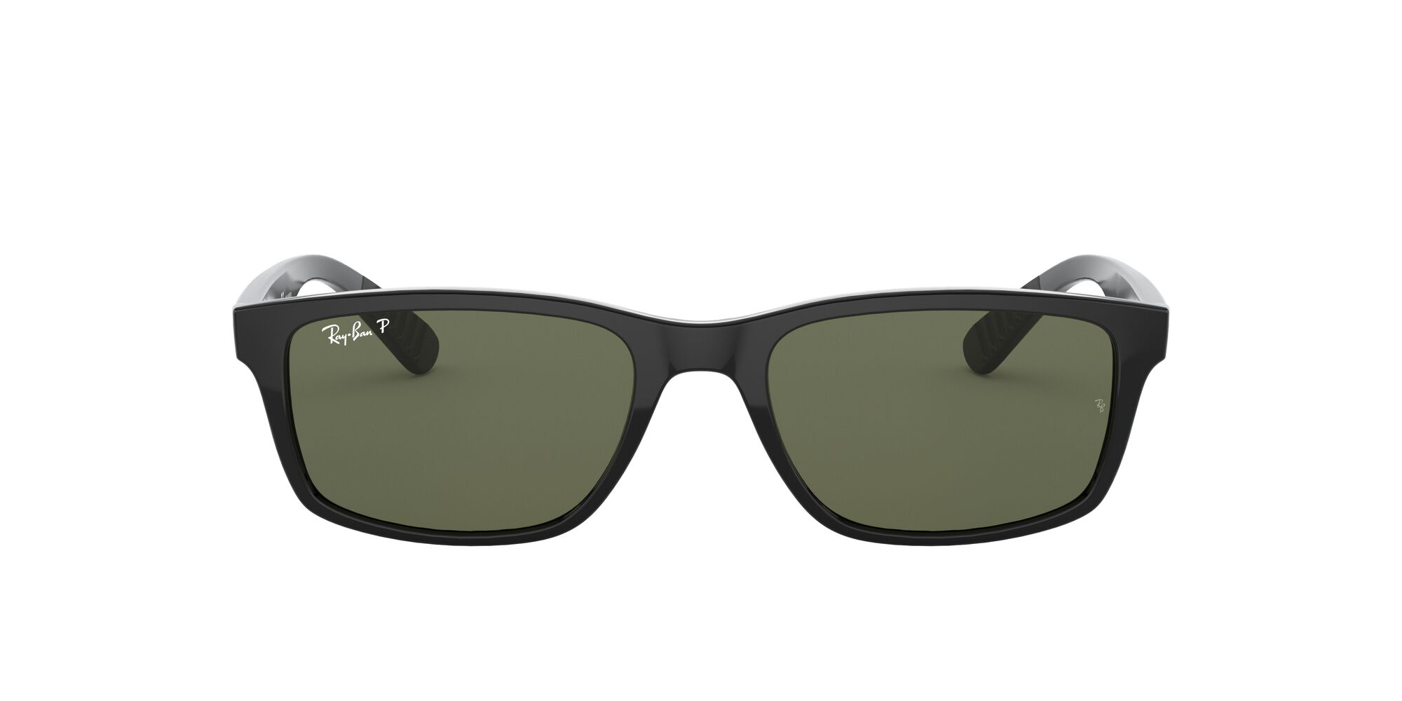 Front Ray-Ban Ray-Ban 0RB4234 601/9A 58/16 Zwart/Groen