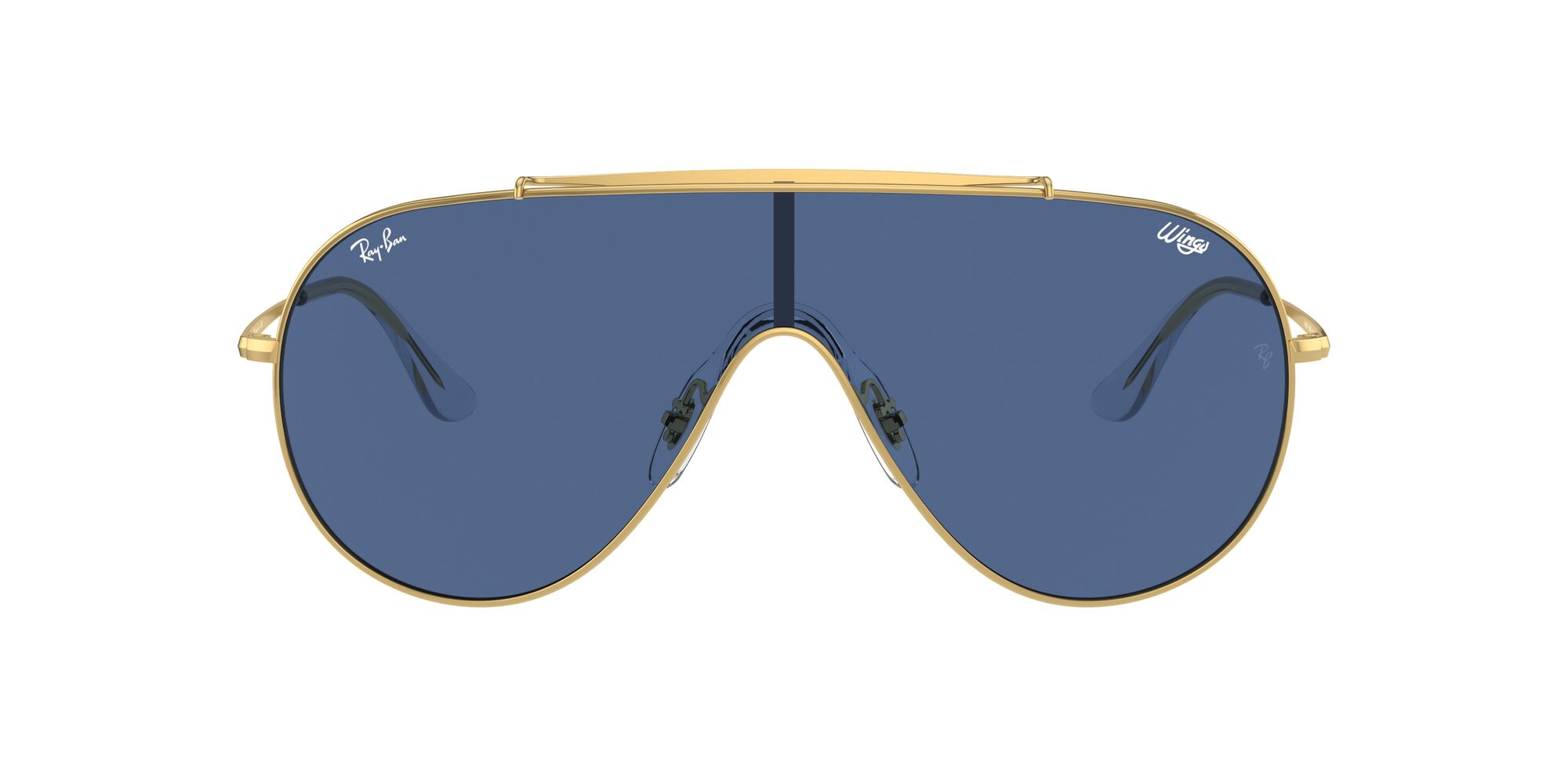 Front Ray-Ban Ray-Ban 0RB3597 905080 0/0 Goud/Blauw
