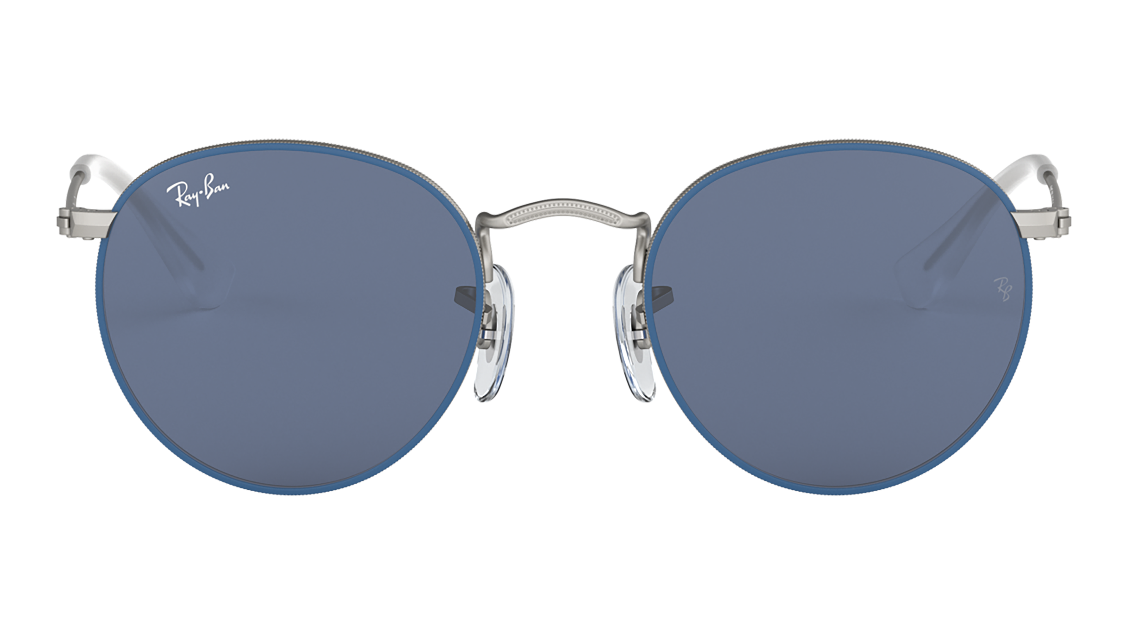 Front Ray-Ban Ray-Ban 0RJ9547S 280/80 44/19 Blauw, Zilver/Blauw