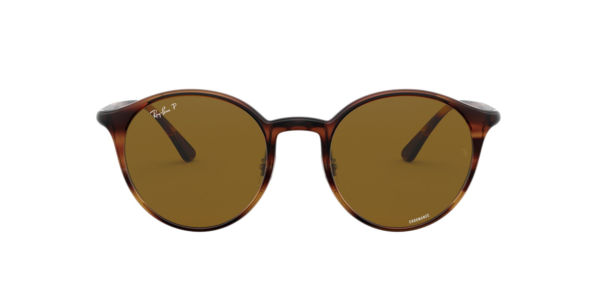 Front Ray-Ban Ray-Ban 0RB4336CH 820/BB 50/20 Bruin/Bruin