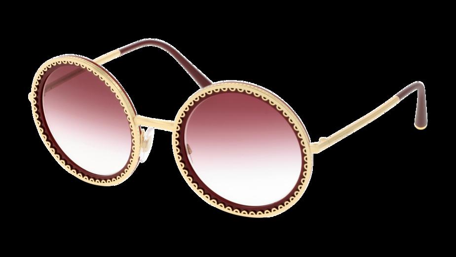 Angle_Left01 Dolce & Gabbana DolceGab 2211 02/8H 53/24 Oro,Rosso/Viola