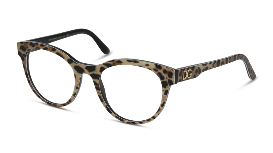 Angle_Left01 Dolce & Gabbana DolceGab 0DG3334 501 52/20 Nero