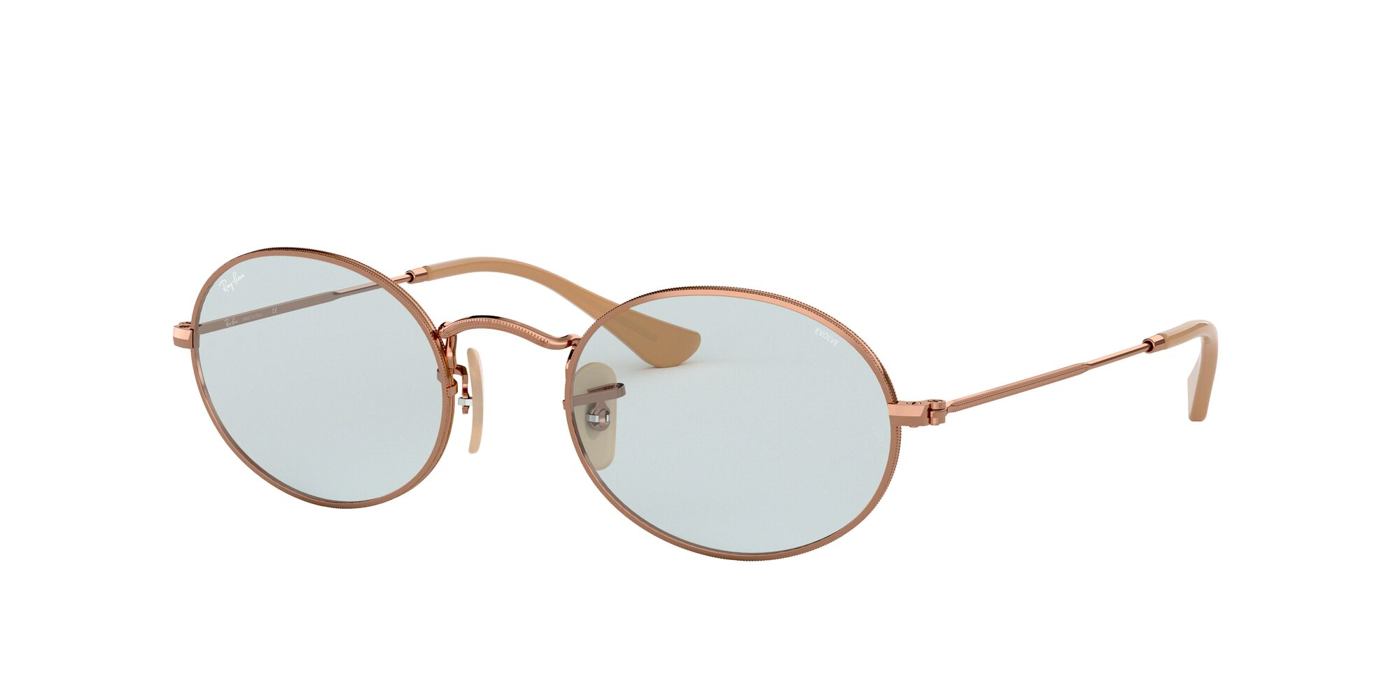 Angle_Left01 Ray-Ban Ray-Ban 0RB3547N 91310Y 51/21 Beige/Blauw