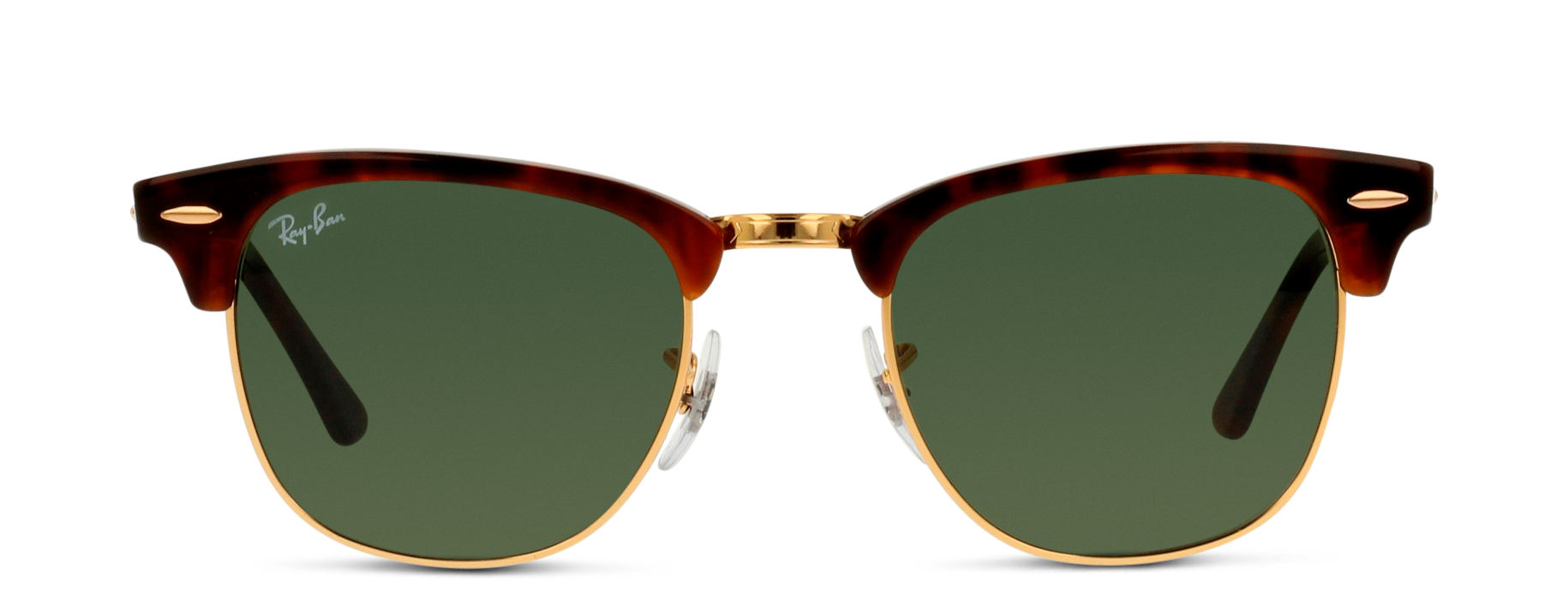 Front Ray-Ban Ray-Ban 3016 W0366 51/21 Bruin, Goud/Groen