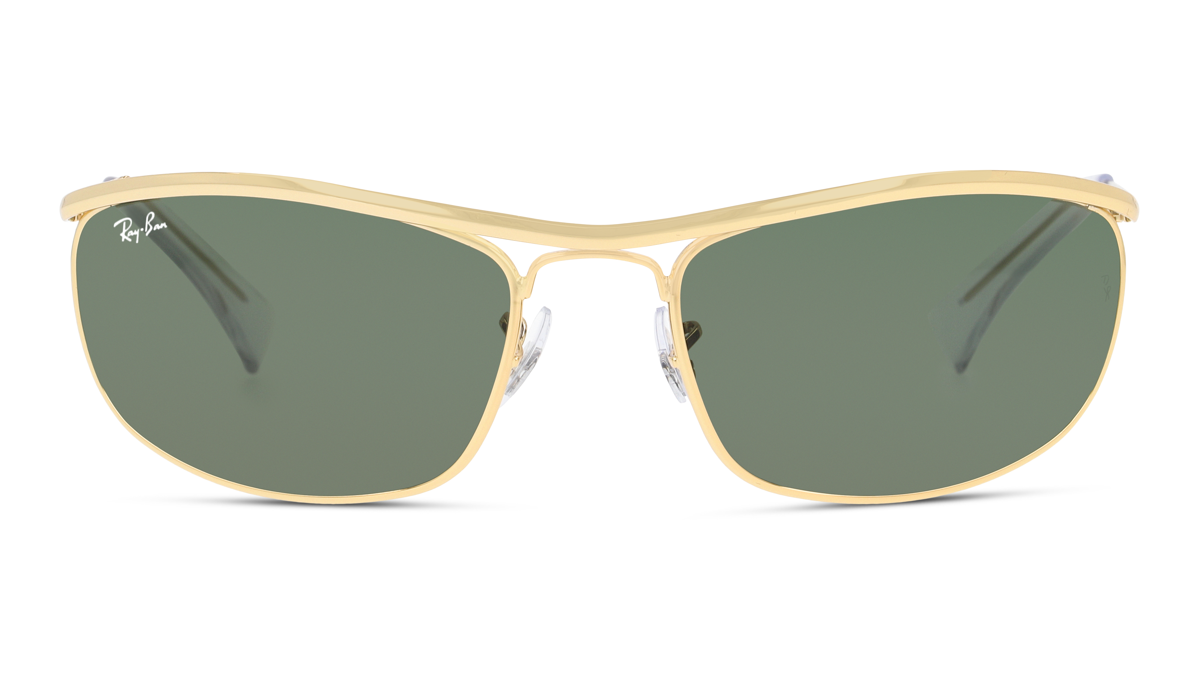 Front Ray-Ban Ray-Ban 0RB3119 001 59/19 Goud/Groen