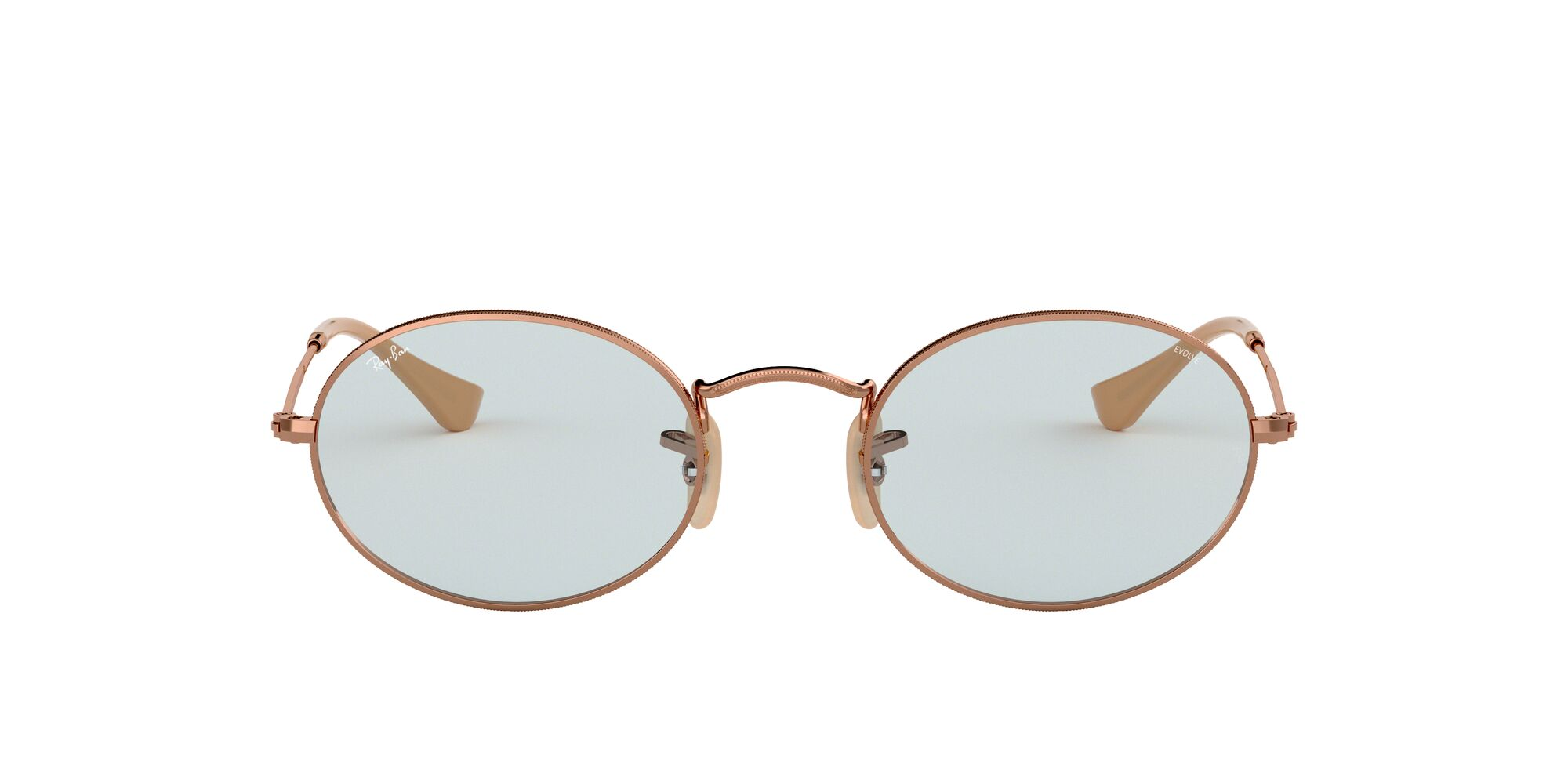 Front Ray-Ban Ray-Ban 0RB3547N 91310Y 51/21 Beige/Blauw