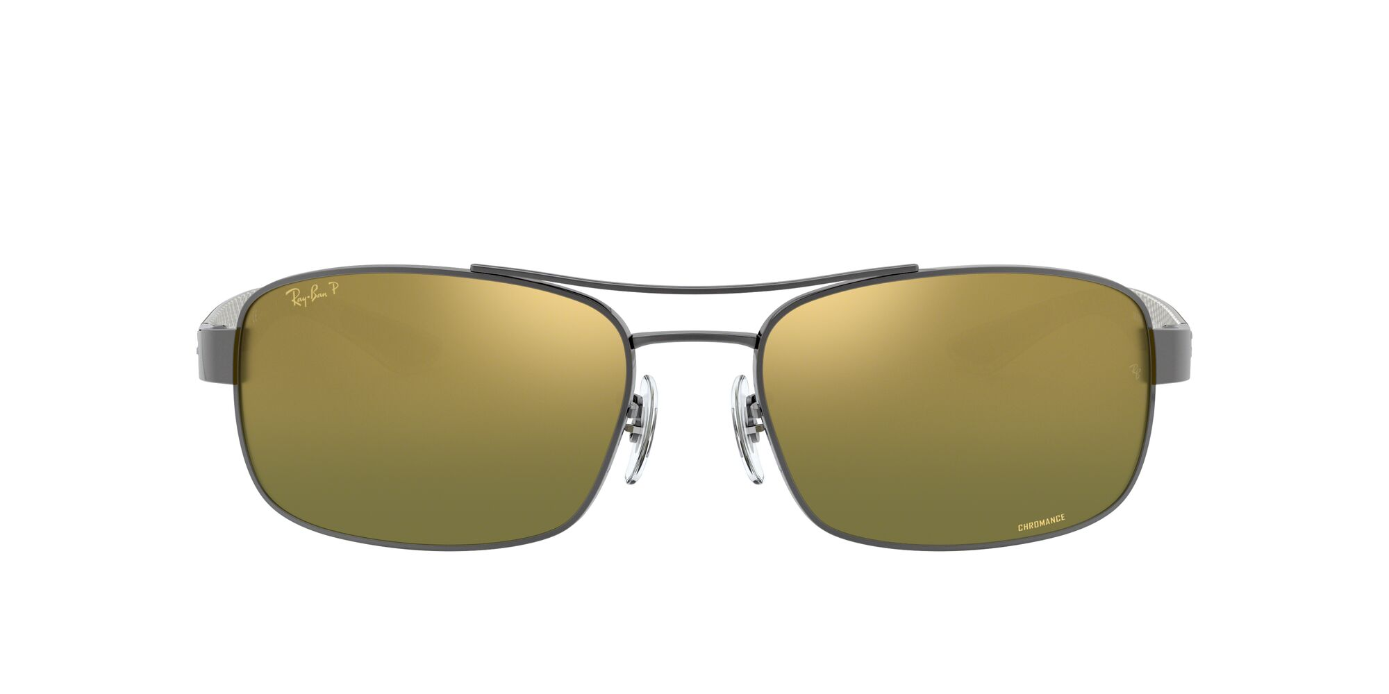 Front Ray-Ban Ray-Ban 0RB8318CH 004/6O 62/18 Grijs/Groen