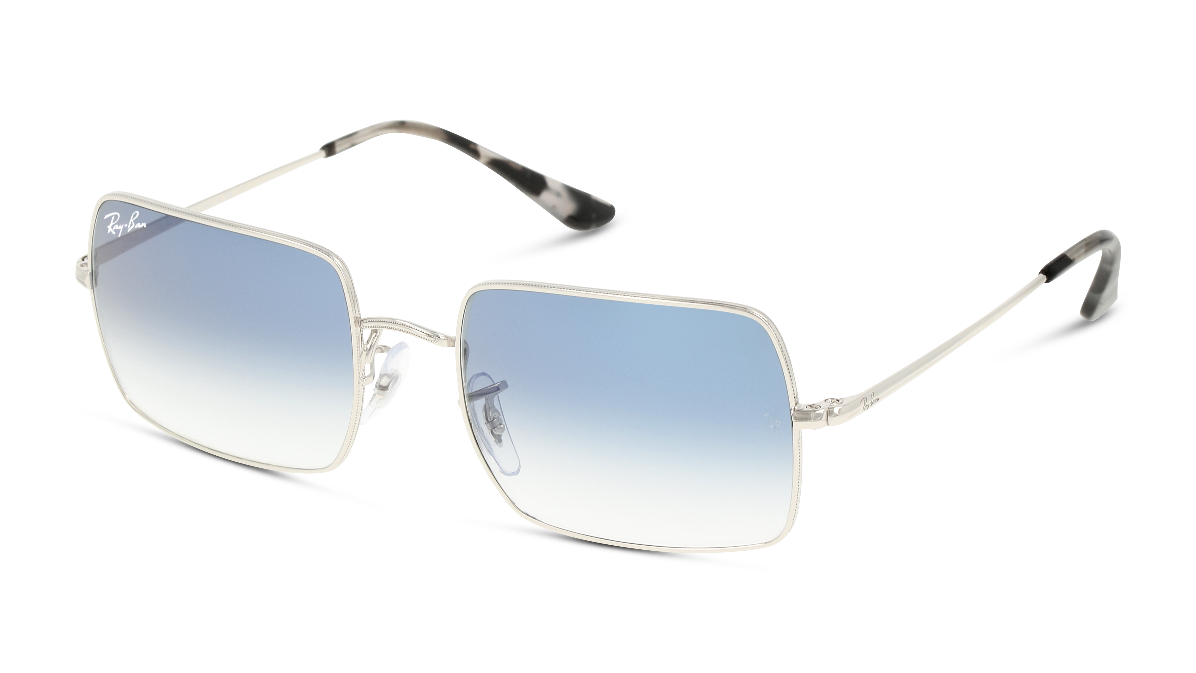 Angle_Left01 Ray-Ban Ray-Ban 0RB1969 91493F 54/19 Zilver/Blauw