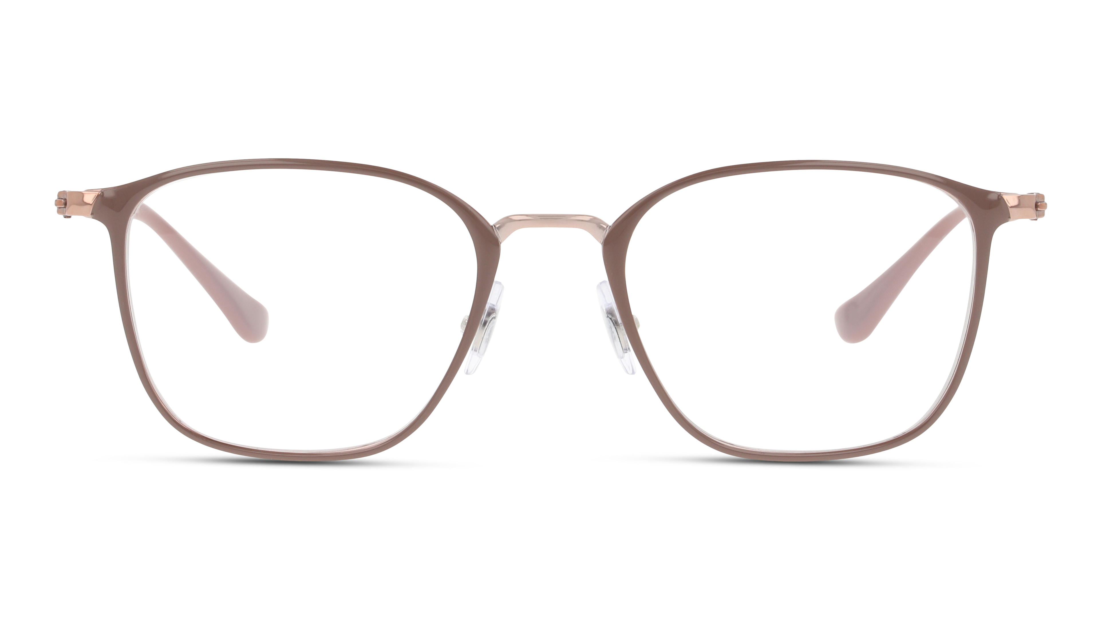Front Ray-Ban Ray-Ban 0RX6466 2973 49/19 Beige, Brons