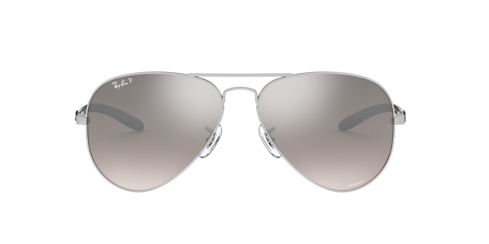 Front Ray-Ban Ray-Ban 0RB8317CH 003/5J 58/14 Zilver/Grijs