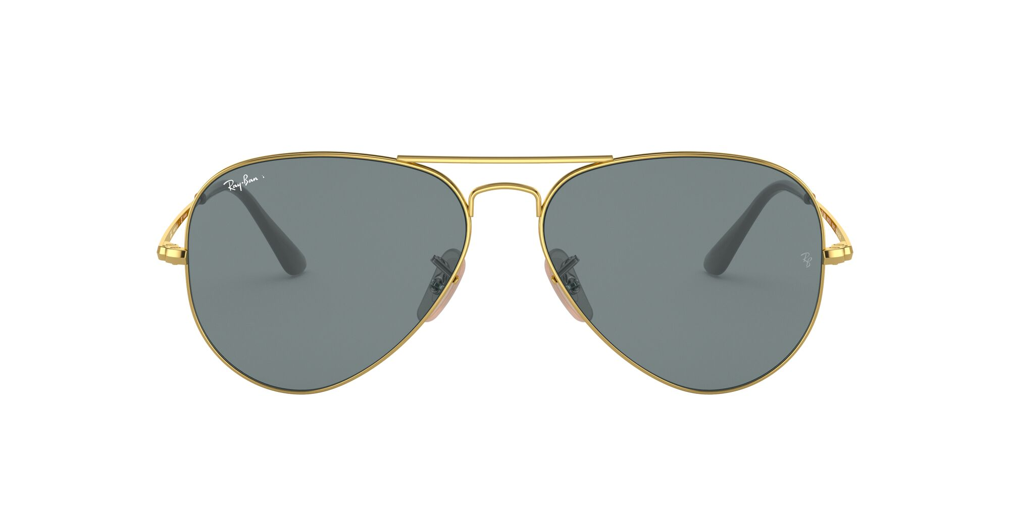 Front Ray-Ban Ray-Ban 0RB3689 9064S2 58/14 Goud/Blauw