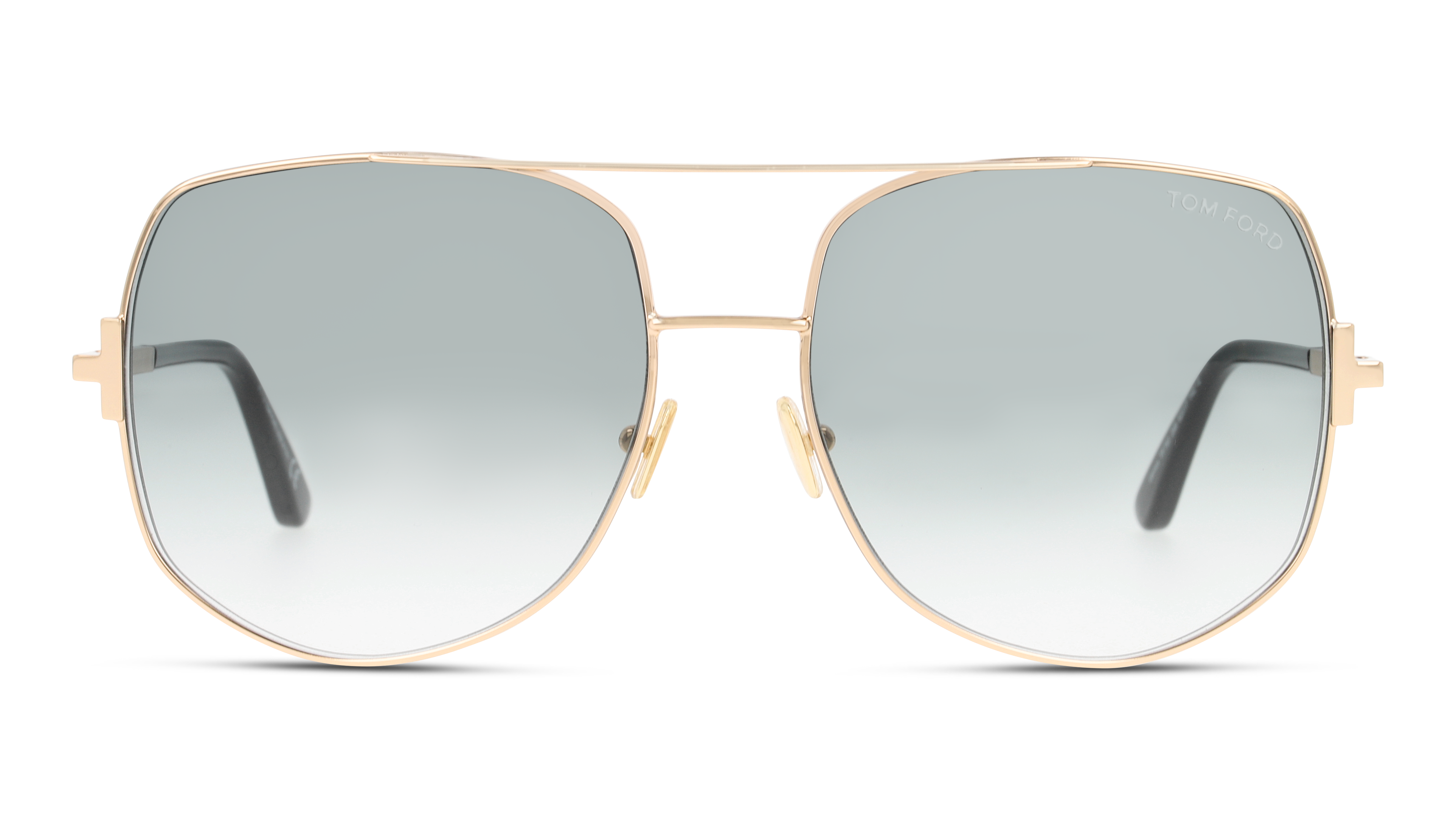 Front Tom Ford Tom Ford FT0783 28B 62/17 Goud/Blauw