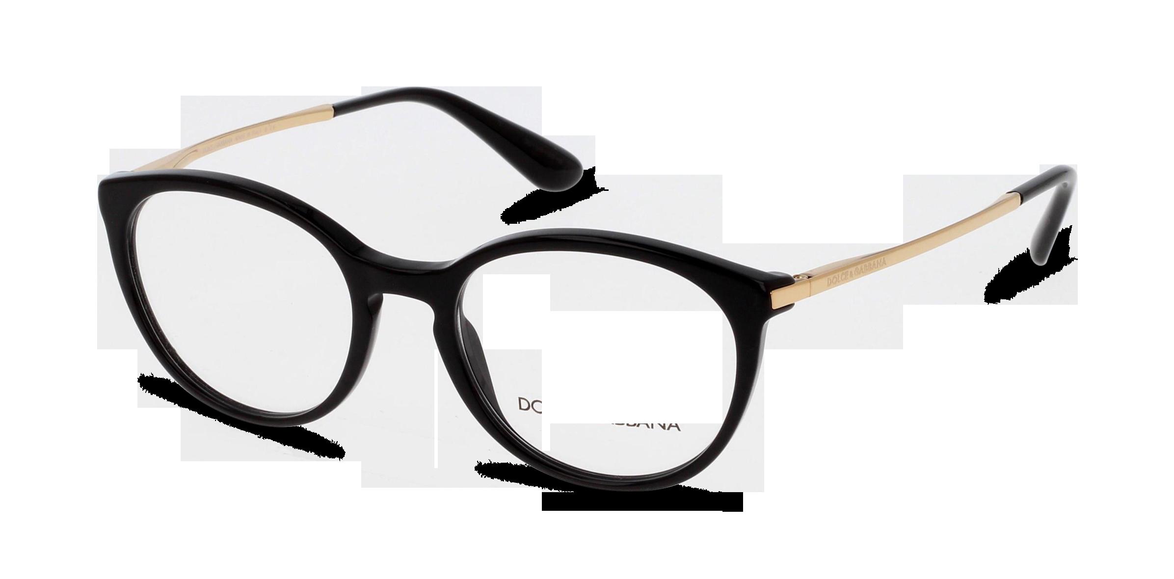 Angle_Left01 Dolce & Gabbana DolceGab 3242 501 50/18 Nero