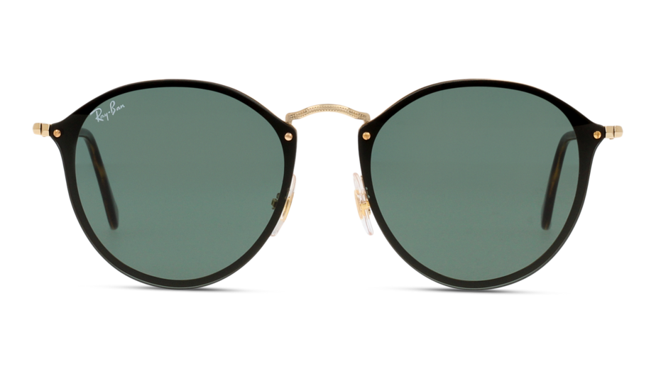 Front Ray-Ban Ray-Ban 3574N 001/71 59/99 Goud/Groen