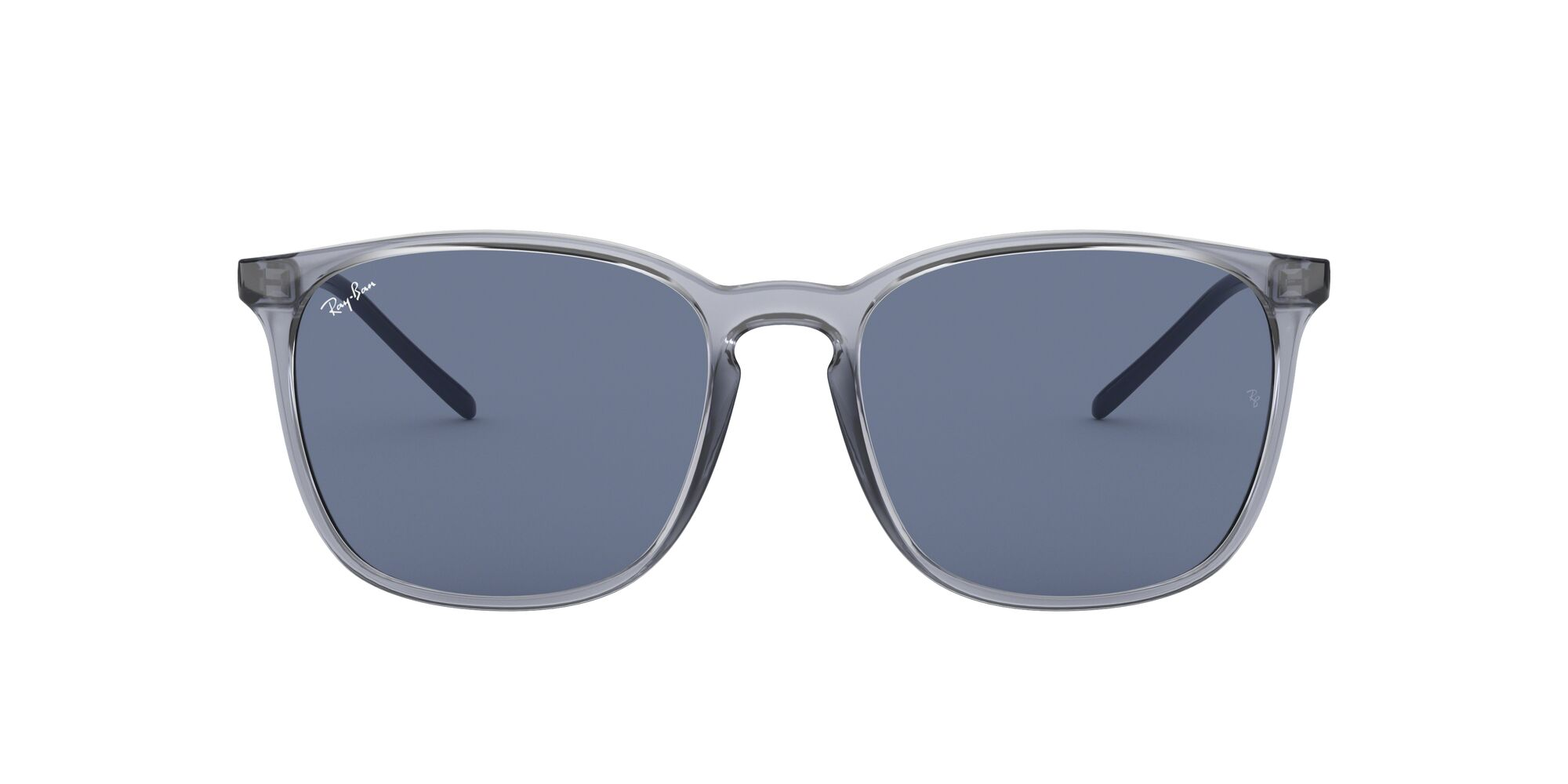 Front Ray-Ban Ray-Ban 0RB4387 639980 56/18 Blauw/Blauw