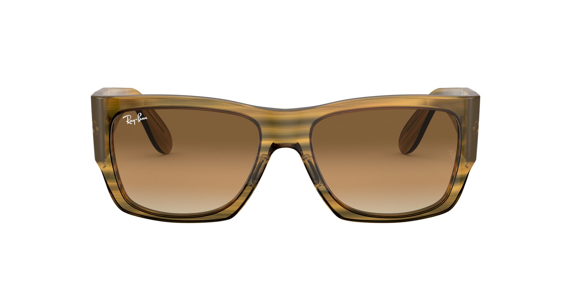 Front Ray-Ban Ray-Ban 0RB2187 131351 54/17 Geel/Bruin