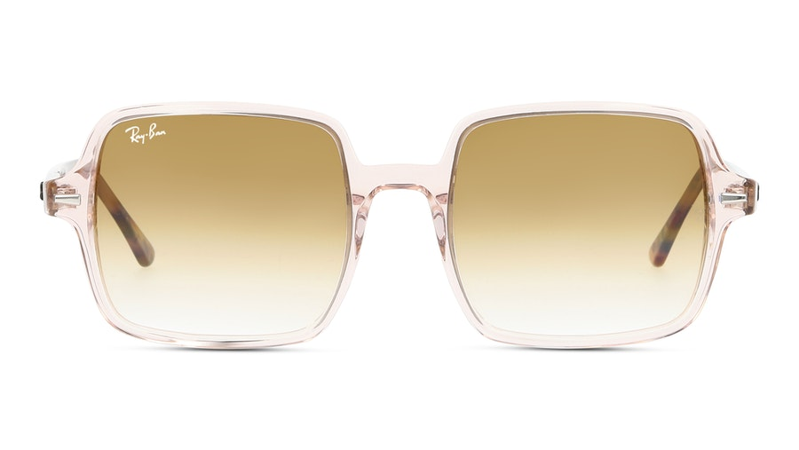 Ray-Ban SQUARE II 1973 128151 Bruin / Roze, Transparant