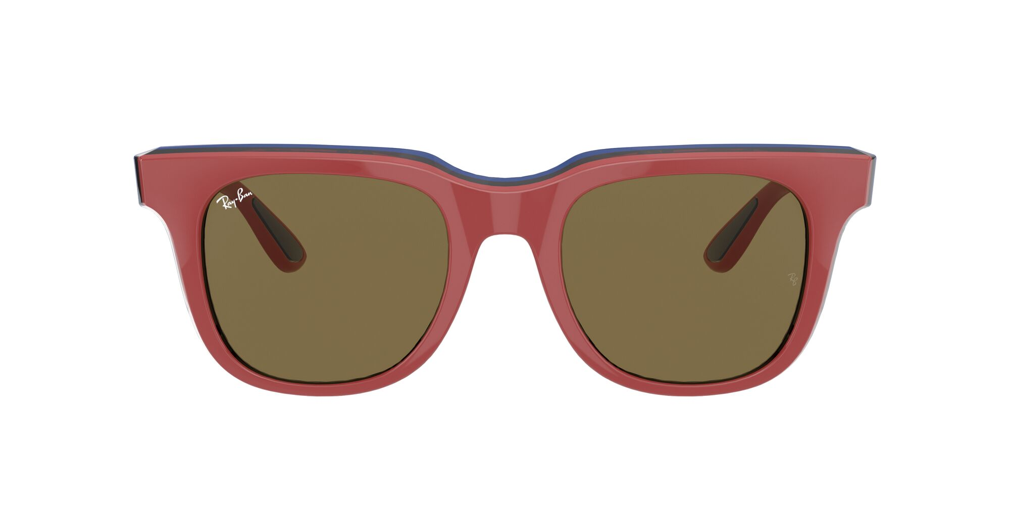 Front Ray-Ban Ray-Ban 0RB4368 652273 0/21 Rood/Bruin