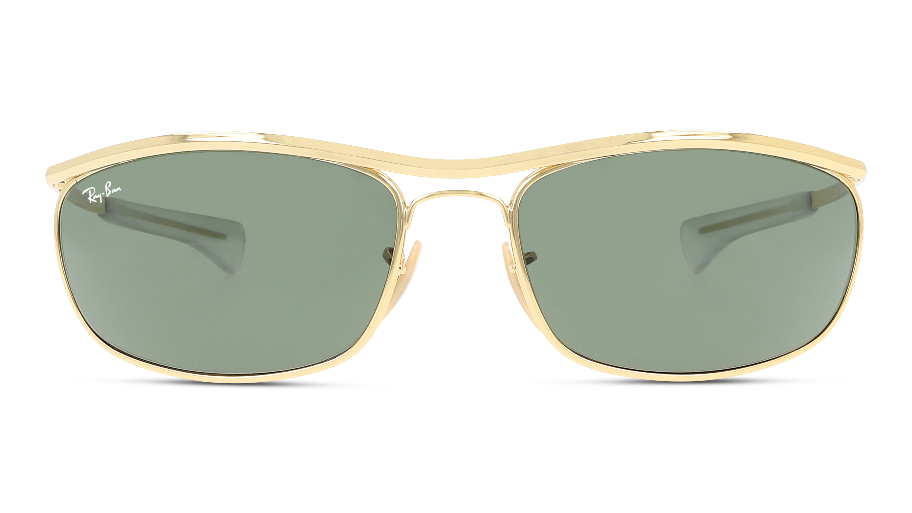 Front Ray-Ban Ray-Ban 3119M 001/31 62/18 Goud/Groen