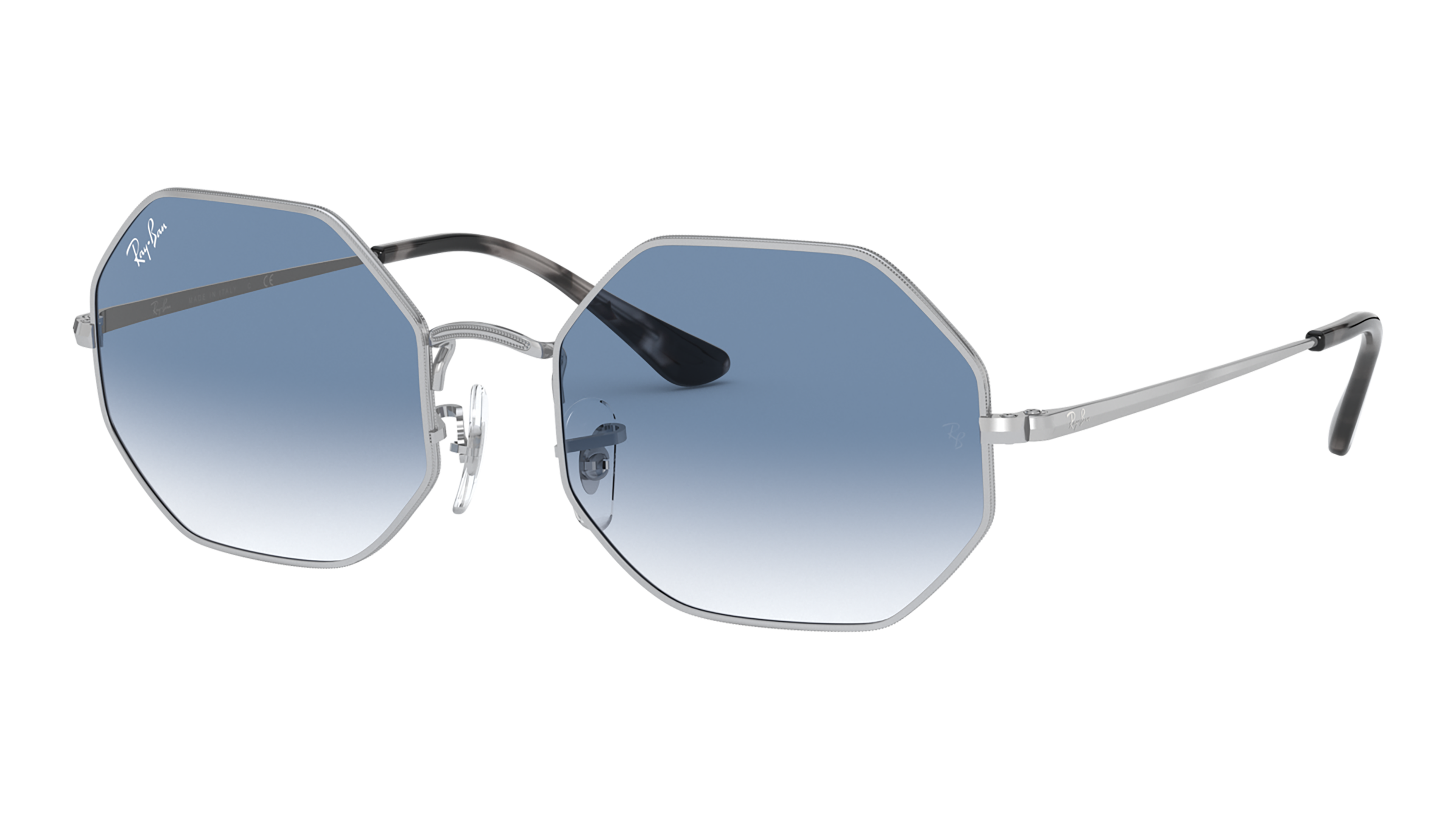 Angle_Left02 Ray-Ban Ray-Ban 0RB1972 91493F 54/19 Zilver/Blauw