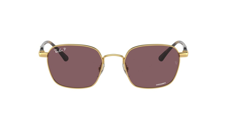 Ray-Ban 0RB3664CH 001/BC Paars / Goud
