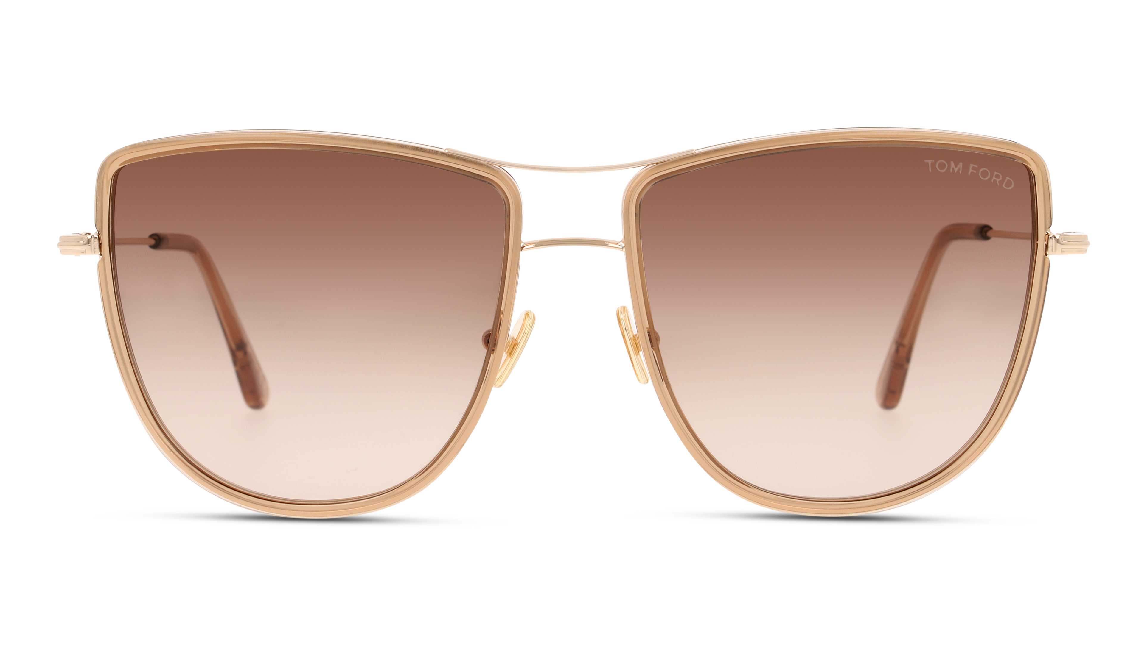 Front Tom Ford TF0759/28F/5918/140 Guld